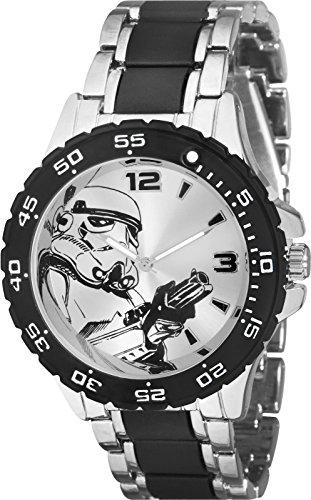 Star Wars Stormtrooper Watch with Metal Bracelet (STM2100)