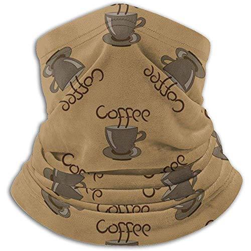 Bklzzjc Kaffeetasse mit der Aufschrift Nackenwärmer - Halsmanschette Tube, Ohrenwärmer Stirnband & Gesichtsmaske.