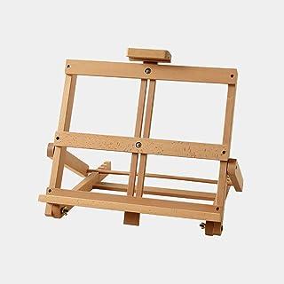 HDGZ Easels Art Easel Painting Elm Folding Table Easel, 4k and 8k Desktop Mini Easel, Three Styles of Optional Wood Color ...