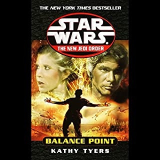 Star Wars: New Jedi Order: Balance Point                   By:                                                                                                                                 Kathy Tyers                               Narrated by:                                                                                                                                 Michael Cumpsty                      Length: 3 hrs and 10 mins     Not rated yet     Overall 0.0