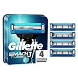 Gillette Mach3 Turbo Cuchillas de Afeitar Hombre, Paquete de