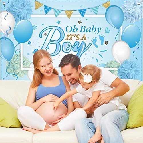 Adornos para baby shower nino _image1
