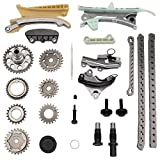 MAYASAF TKC8011 Engine Timing Chain Kit [4.0L V6 Engine] for Ford 1997-10 Explorer/01-05 Explorer Sport Trac/01-10 Ranger/05-06 Mustang, 1998-10 Mountaineer, 2001-06 B4000