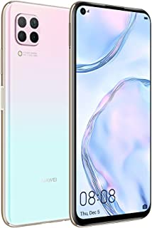 HUAWEI Nova 7i Smartphone, 128GB 8GB RAM, 6.4 Inches Display, Dual SIM, 48 MP Quad AI Cameras, 4200 mAh Large Battery, 40W HUAWEI SuperCharge, Sakura Pink