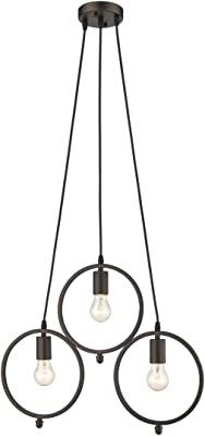 Amazon.com: Flo 's lente – Lámpara de techo negro ...