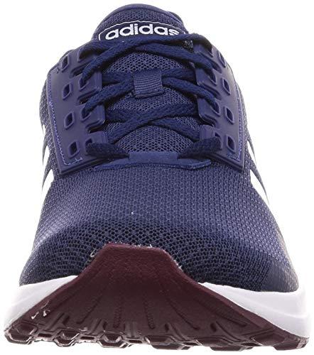 adidas Duramo 9, Zapatillas de Entrenamiento Hombre, Azul (Dark Blue/Footwear White/Maroon 0), 40 2/3 EU