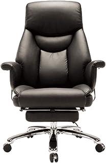 Codzienne wyposażenie Obrotowe krzesło biurowe Executive Krzesło biurowe z wysokim oparciem Leżące krzesło biurowe ze skór...