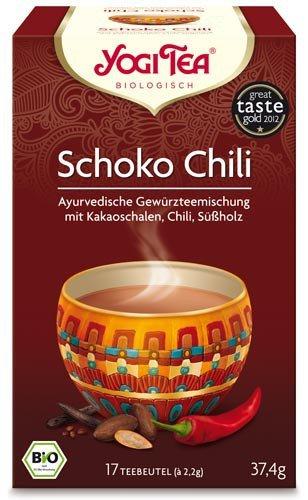 Yogi Tee, Schoko Chili Tee, 17 Teebeutel, 37,4g, BIO