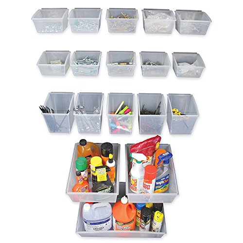 Proslat 03250 Probin Storage Bin Kit Designed for PVC Slatwall