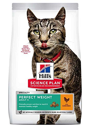 Hills Pet Nutrition S.L. SP Feline Weight 2,5 kg 604079 Hills 600 g
