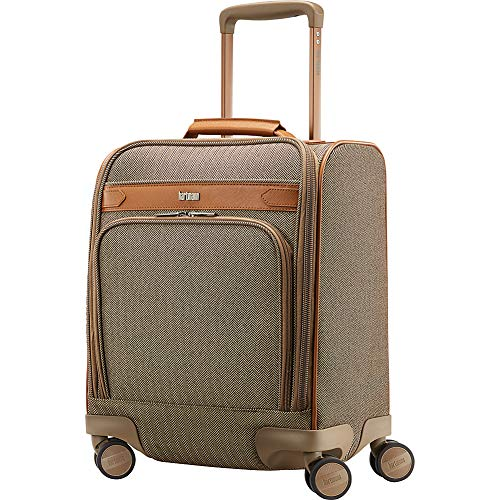 Hartmann Deluxe Underseat Carry On Spinner, Terracotta Herringbone, One Size