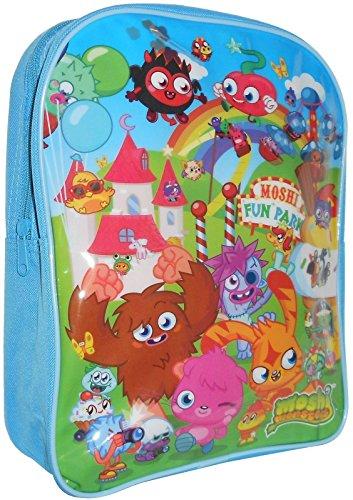 Moshi Monsters Fun Parc Bleu Sac d'école Sac à dos Sac à dos