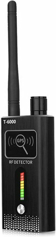Detector GPS T6000 Anti-Spy GPS Lente de la Lente Tracker Cámara gsm Spy Bug Detector Anti Candid Cámara GPS Tracker Wireless Audio Bug Finder Detector de Coches