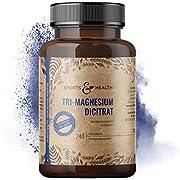 Magnesium Kapseln Als 2250 mg Hochwertiges Tri-Magnesium Dicitrat Davon 360 mg Elementares Magnesium Mit 240 Magnesiumcitrat Kapseln Ohne Zusatzstoffe, Ohne Füllstoffe, Vegan