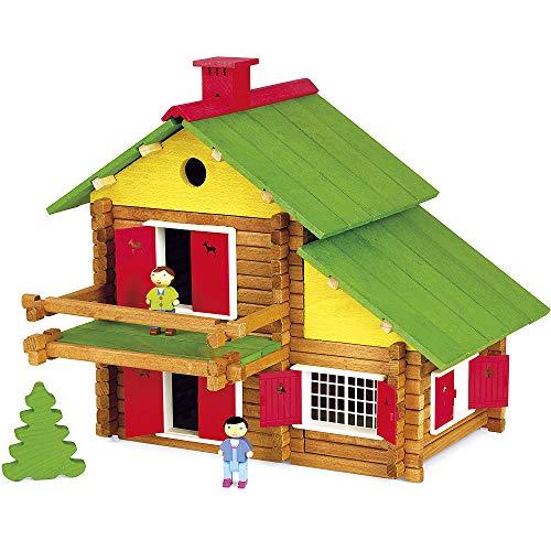 Unbekannt JeuJura - Holzspielzeug - Swiss Chalet - 175 Teile [Spielzeug]