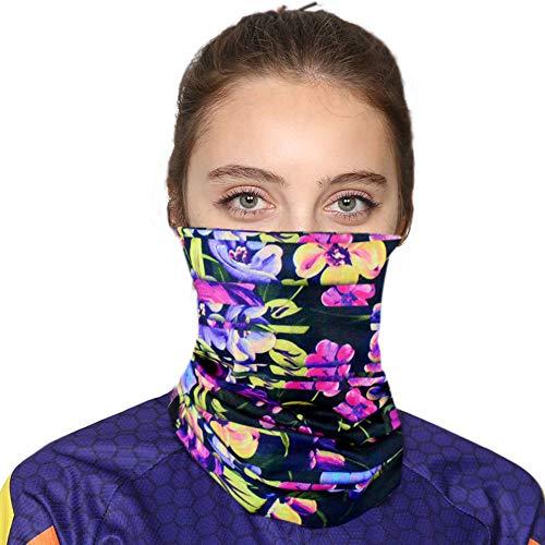 Jomore Multifunctionele doek mondbescherming masker fiets motorfiets sjaal gezichtsmasker joggen gezichtsdoek motorfiets bandana set kleurrijk, ideaal voor hardlopen, fietsen, yoga, wandelen