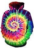 SWAG HIPSTER Men Hoodie Women pastel tie dye Hoodies Sweatshirt (6XL)