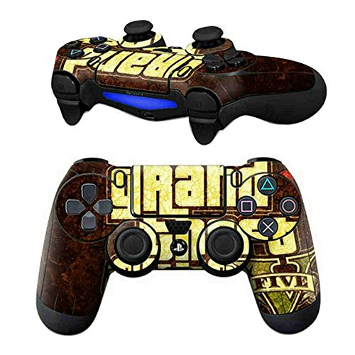 ModFreakz Pair of Vinyl Controller Skins - Cop/Theft Car Chase Game for PS4