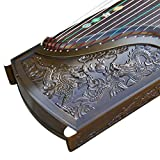 Chinese Traditional Musikinstrument Guzheng Jinsi Nanmu Handgeschnitzte Drachen Nationale Saiteninstrument Professional Grade Sammlung Zither
