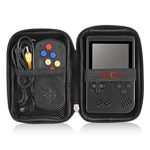 USXUS Handkonsole Harte Tragetasche, für Fivejoy/ weikin/ LucaSng/ Gamory/ Moshbu/ colmanda/ Fiotasy/ DigitCont/ Aiboria Handheld-Spielekonsole, (Schwarz, nur Schutzhülle)