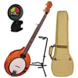 Gold Tone EB-5 Electric Banjo w/Gig Bag, Tuner, and Stand