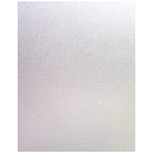Fauge PelíCula de Ventana PelíCula de Vidrio Esmerilado Pegatinas ElectrostáTicas Opacas Oficina BaaO Sala de Estar Cocina