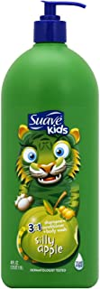 Suave Kids 3 in 1 Shampoo Conditioner Body Wash Silly Apple 40 oz