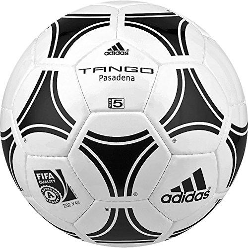 adidas Trainingsball Tango Pasadena Ball, White/Black, 5