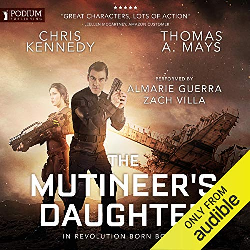 Couverture de The Mutineer's Daughter