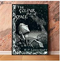 Yuuv Lovecraft恐ろしい肖像画キャンバス絵画ポスターと壁に絵を印刷ヴィンテージポスター装飾的な家の装飾Quadro(23.62X35.43インチ)60X90Cmフレームなし