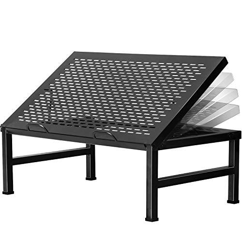 Bextsrack Soporte para ordenador portátil, ergonómico, multiángulo, ajustable, para escritorio, monitor con ventilación térmica,...