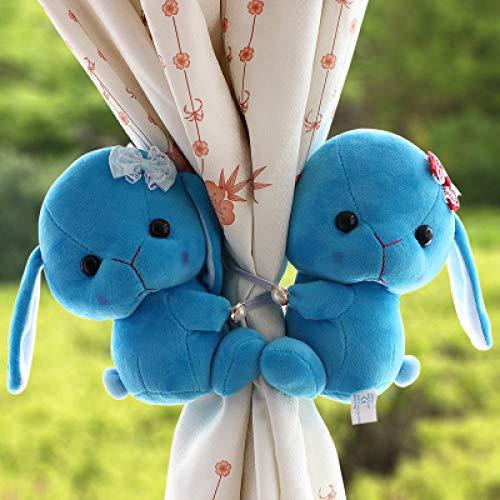 HNLHLY Cartoon konijn gordijn gesp gordijn riem creatieve venster accessoire decoratie 2 stks