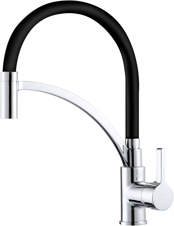 Pop Kitchen Black Tap For Kitchen Sink Taps Chrome