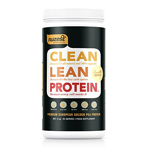 Nuzest Saubere Lean Protein 1 kg Glatte Vanilla