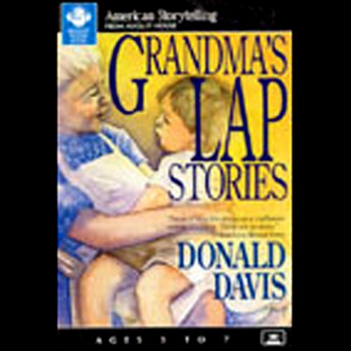 Grandma's Lap Stories audiobook cover art