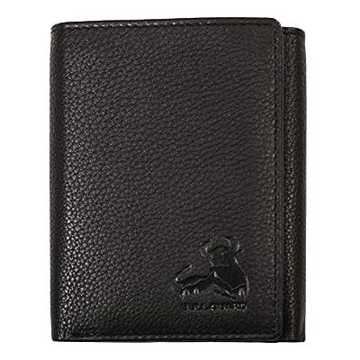 Bull Guard Mens Wallet RFID Blocking Napa Genuine Leather With Secret Pocket