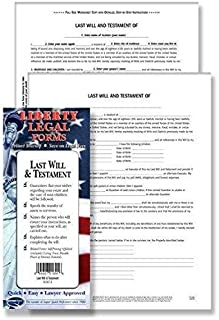last will and testament folders