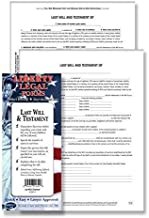 Last Will & Testament Forms - USA - Do-it-Yourself Legal Forms by Permacharts