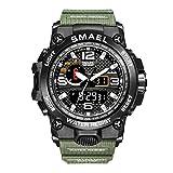Hombre Relojes, L'ananas Al Aire Libre Deportes Multifuncional Camuflaje Militar LED Relojes de Puls...