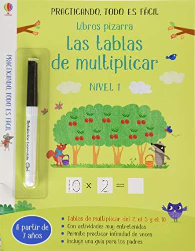 LIBROS PIZARRA TABLAS DE MULTIPLICAR
