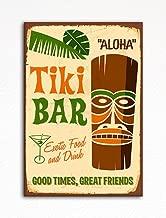 Tiki Bar Retro Polynesian Style Refrigerator Magnet