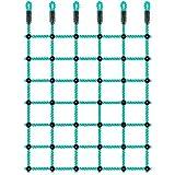 BeneLabel Climbing Cargo Net, Indoor Climbing net, Outdoor Cargo Webbing Net, Military Climbing Cargo Net, 100% Nylon Material Rope Ladder, Corrosion Resistance, 49' x 77'
