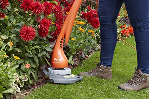 Flymo 9669523-01 Contour XT Electric Grass Trimmer and Edger, 300 W, Cutting Width 25 cm