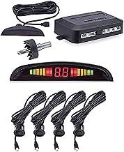 $22 » Car Parking Sensor Parktronic Display 4 Sensors Reverse Backup Assistance Radar Detector Auto Led Light Monitor System