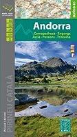 Andorra 1 : 40 000: Comapedrosa - Engorgs - Juclà - Pessons - Tristaina 1:40.000