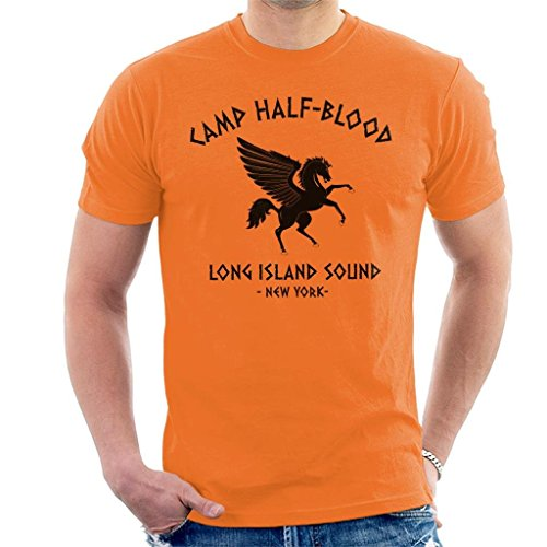 Percy Jackson Camp Half Blood Men's T-Shirt