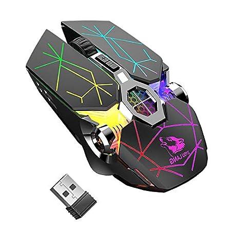【値下げ・7/31まで】JPARR LED搭載7ボタンワイヤレスゲーミングマウス 1,199円送料無料!