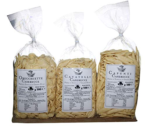 Tris Pasta aus Apulien.