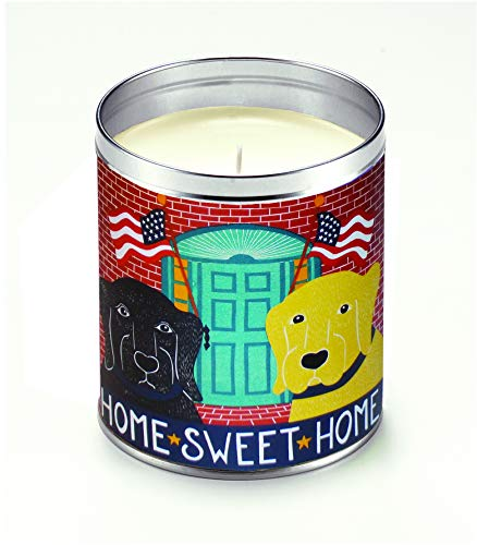 Aunt Sadies Candles HUN014 Apple Pie Scented Candle, White