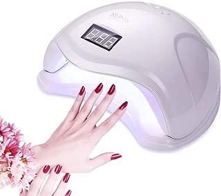 LyncMed 48W LED UV Nail Lamp, Professional Nail Dryer Curing Lamp, for Nail Gel Polish, Home and Salon Use